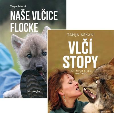 Naše vlčice Flocke & Vlčí stopy / Můj život s vlčí smečkou