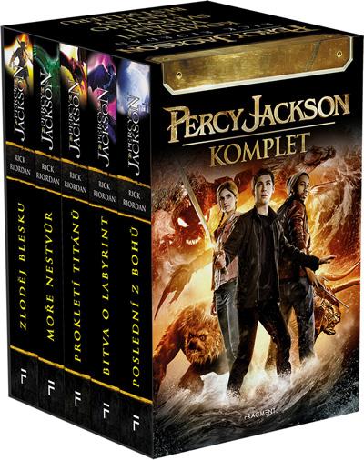Percy Jackson - komplet