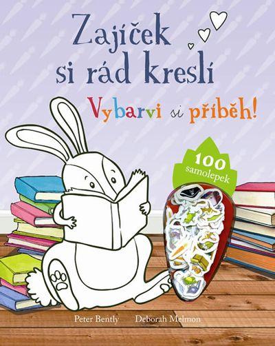 Zajíček si rád kreslí - Vybarvi si příběh!